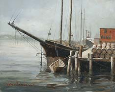 marine art nautical paintings yves berube halifax harbour